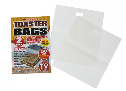 Toaster bags twin pack