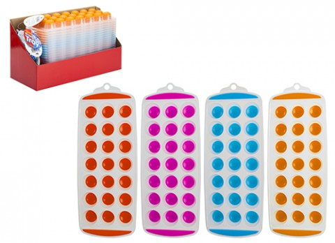21 hole easy pop out ice cube tray