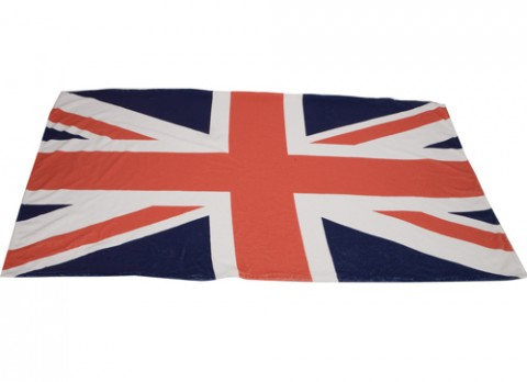Super soft union jack design beach towel