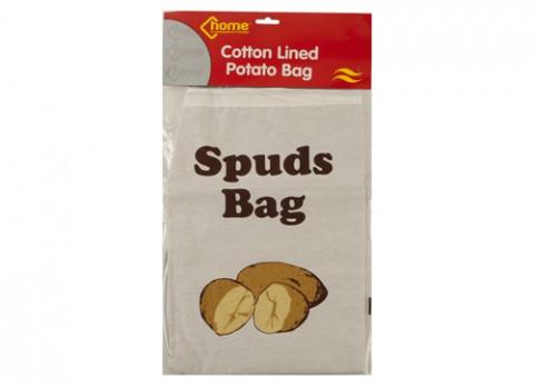 Potato storage bag with drawstring 15 inch  x 10.5 inch