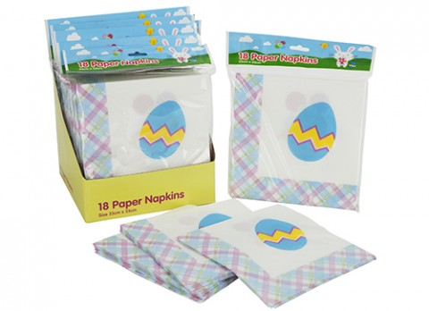 18pk summer napkins