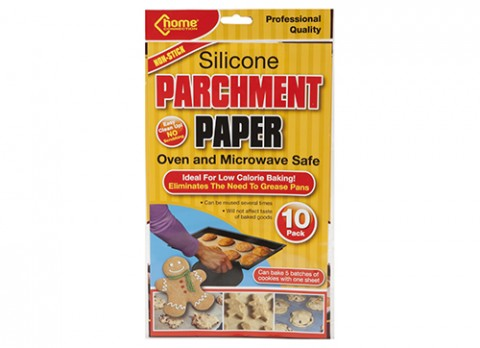 10 sheet pk silicone parchment paper 15 inch x12 inch