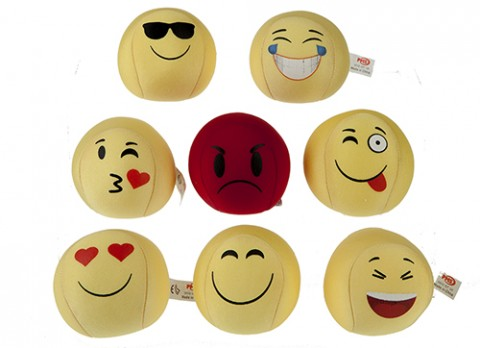 3 inch  lycra emoticons