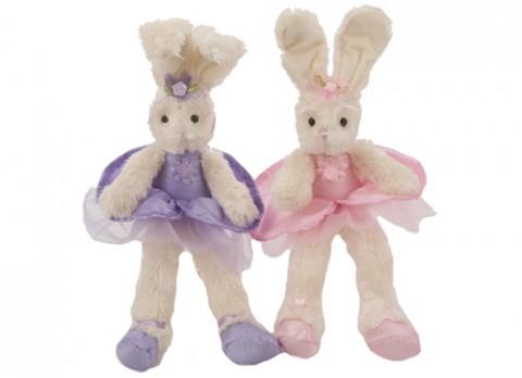 12 inch  ballerina bunny