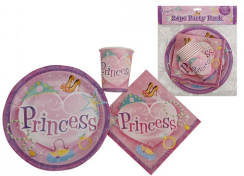 24 pc princess party pack