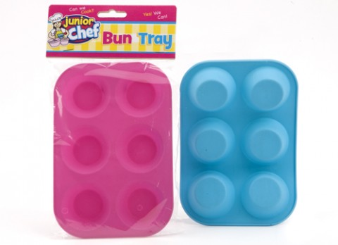 Junior chef childrens silicone cake tray