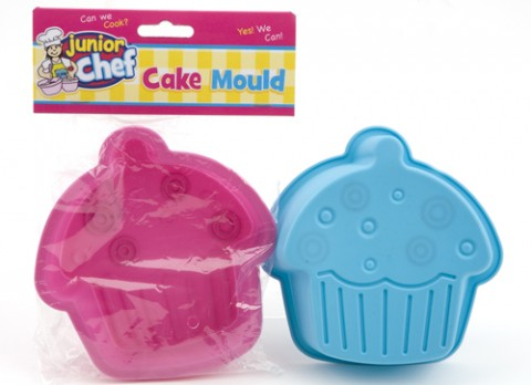 Junior chef childrens silicone cupcake mould