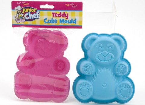 Junior chef childrens silicone teddy cake  mould