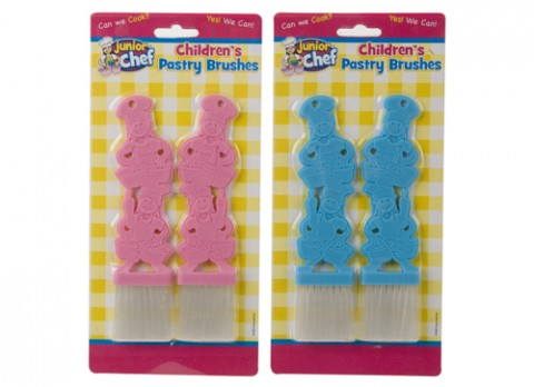 Junior chef childrens pastry brushes