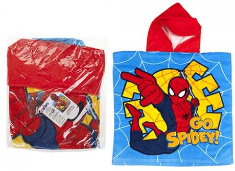 Spiderman poncho towel