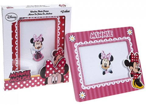 Minnie red wooden picture frame
