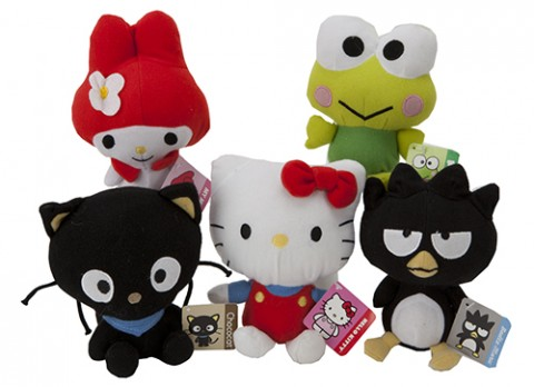 7 inch  hello kitty and friends