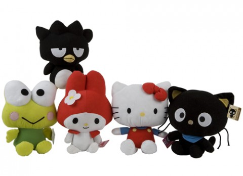 13 inch  hello kitty and friends