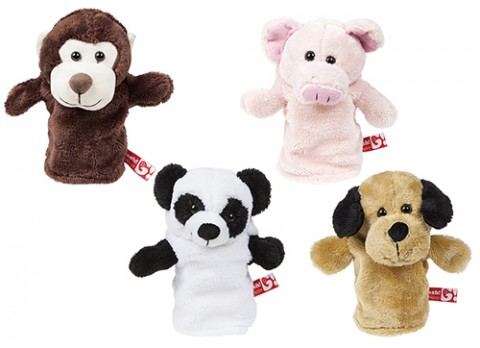 9 inch  hand puppets
