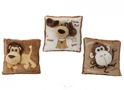 15 inch  pillow puppets
