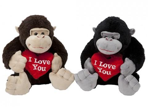 17.5 inch  love gorilla