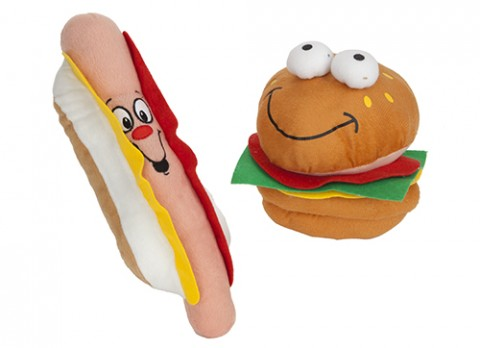6 inch  fast food plush