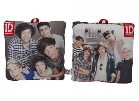 10 inch one direction photo cushion