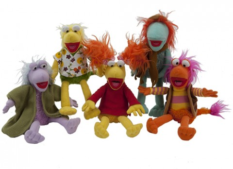 8 inch  fraggle rock