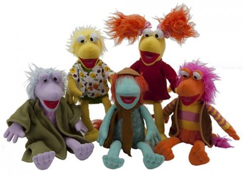 11 inch  fraggle rock