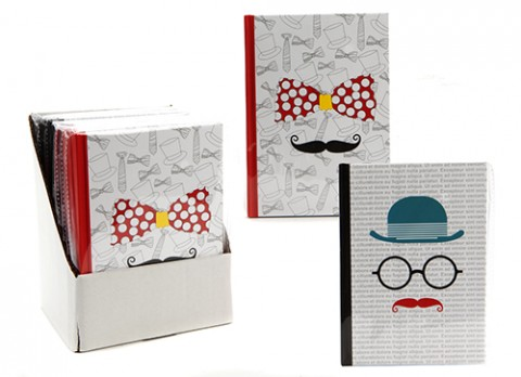 Moustache notebooks