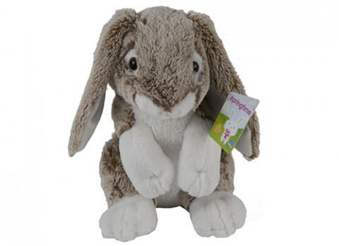 11 inch  lola supersoft rabbit with 2-tone fur