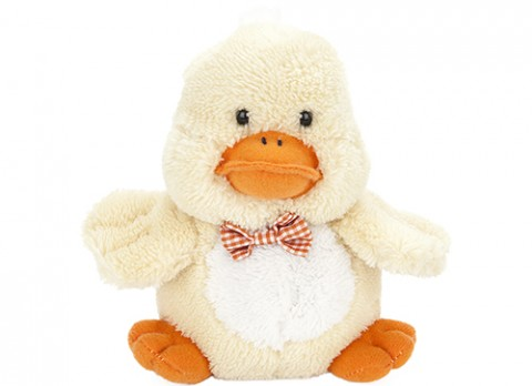 7 inch  cute chick with bow tie