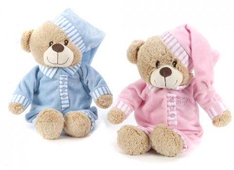 11 inch  baby boy-girl bedtime bear