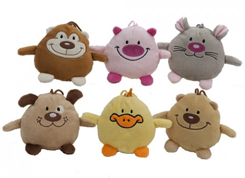 4 inch  tubby friends cuddly toys