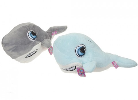 24 inch  cartoon eye dolphin