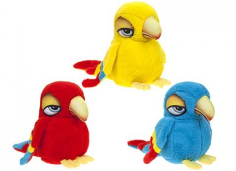6 inch  cartoon eye parrot