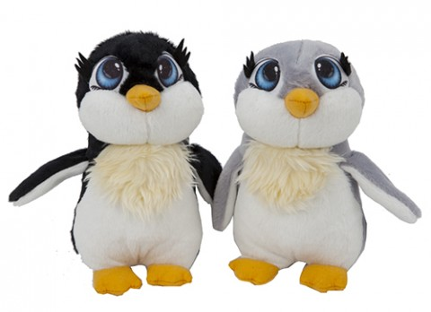 9 inch  cartoon eye penguin