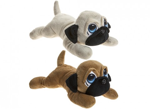 10.5 inch  cartoon eye pug