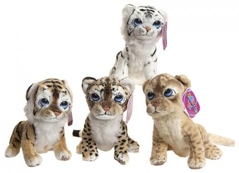12 inch  cartoon eye tiger cubs