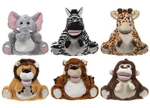 13 inch  full body pillow puppets