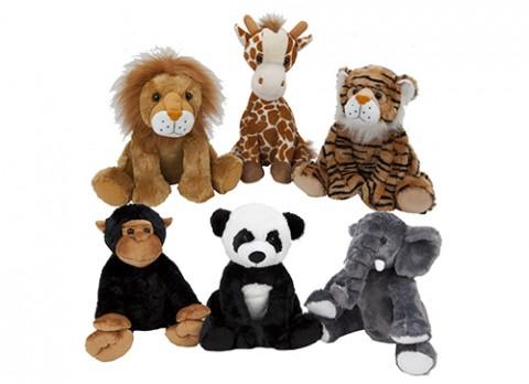 17 inch  luxury wild animals playground range