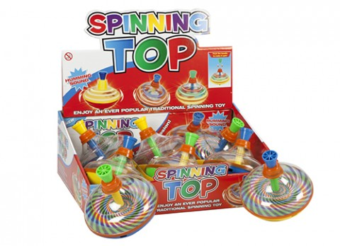 Childs spinning - humming tops