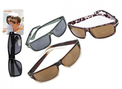 Mens sports style plastic sunglasses