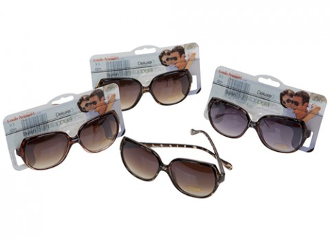 Ladies demi frame fasion sunglasses