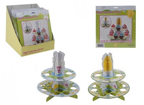 Egg-cupcake stand