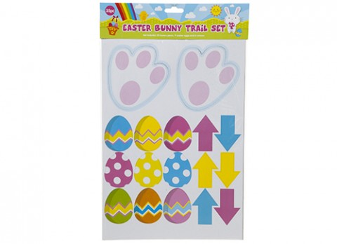 35pc egg hunt-bunny trail set