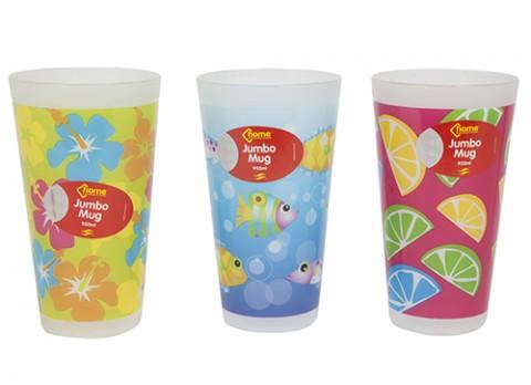 30 oz jumbo plastic mug