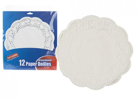 Pack of 12 paper doilies